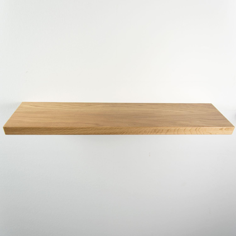 Zwevende Wandplanken Op Maat.Rustiek Eiken Wandplank 740x170x32mm Houtopmaat Nl
