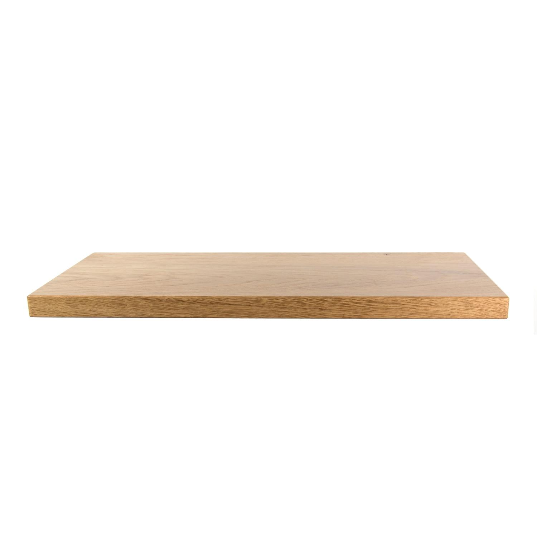 Plank Met Blinde Ophanging.Rustiek Eiken Wandplank 660x270x32mm Houtopmaat Nl