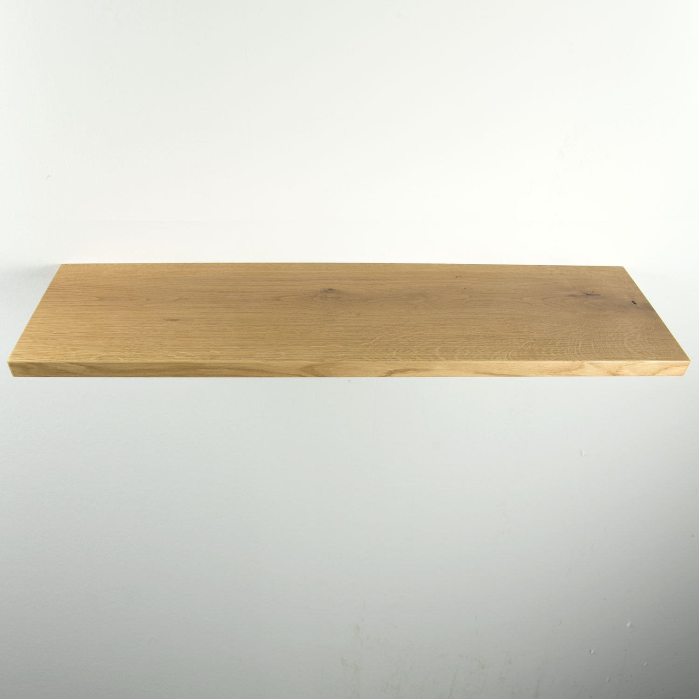 Zwevende Wandplank Hout.Rustiek Eiken Wandplank 950x250x30mm Houtopmaat Nl