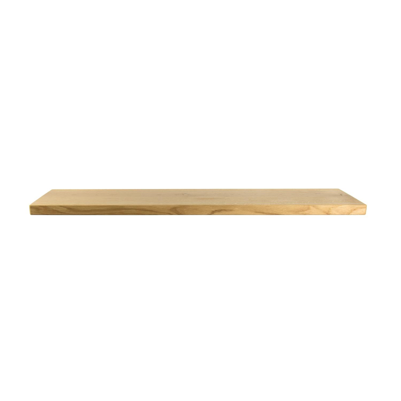 Eiken Wandplank Op Maat.Rustiek Eiken Wandplank 950x250x30mm Houtopmaat Nl