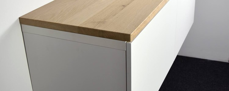 Ikea Tv Meubel Grenen.Houten Blad Op Besta Ikea Meubel Houtopmaat Nl